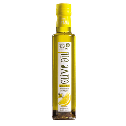 Оливковое масло EV с лимоном Cretan Mill 250мл