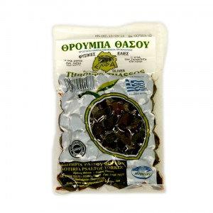 Оливки вяленые Throuba Thassos 250г в вакууме