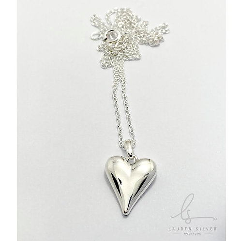 Rounded Heart necklace