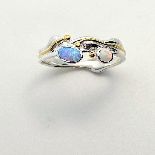 Slim Opalite Ring
