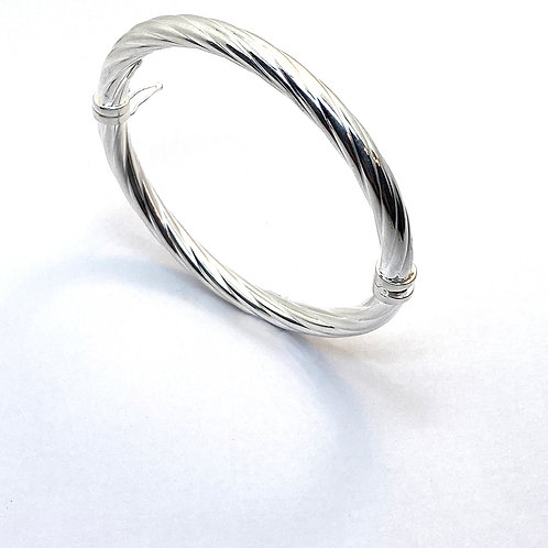 Twisted Wire torque bangle