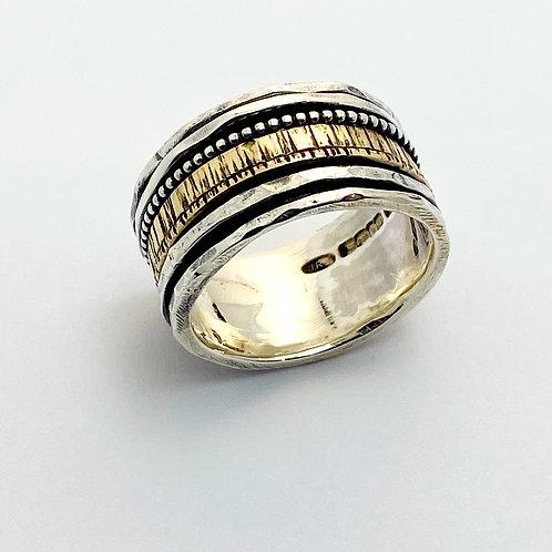 Textured Spinner Ring