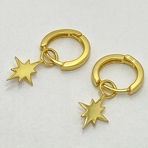 Hoops with Star Drops