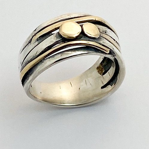 Silver & Gold Ring, 1/1.