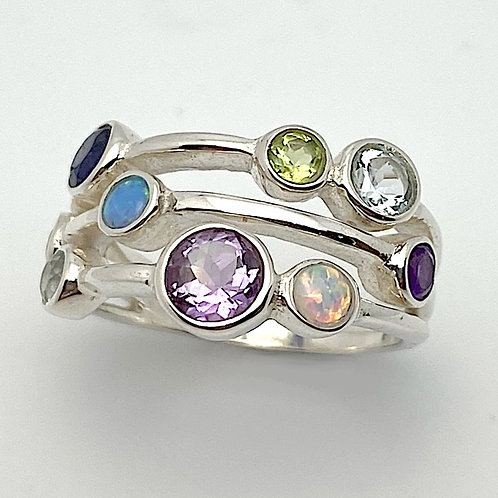 Gem Extravagance Ring