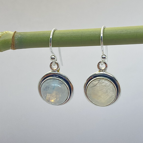 Classic Moonstone Earrings