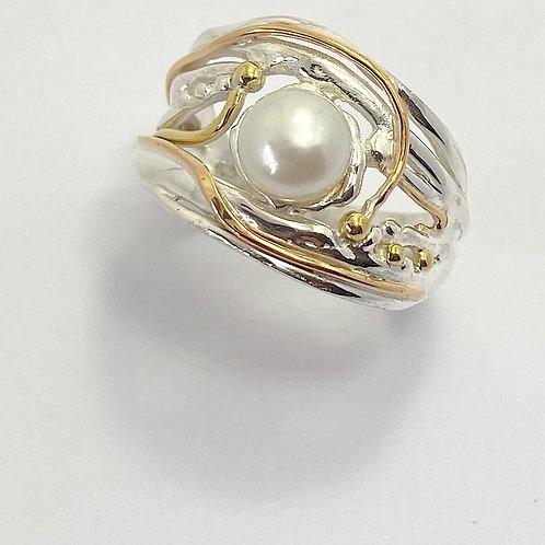 Organic Pearl Ring