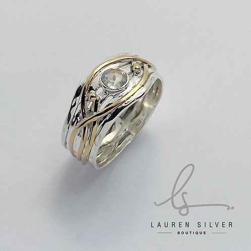 Woven Celtic style Ring