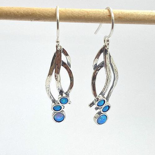 Long Opalite Earrings