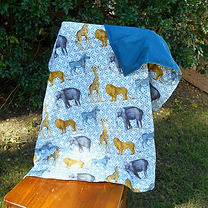 large weighted lap blanket