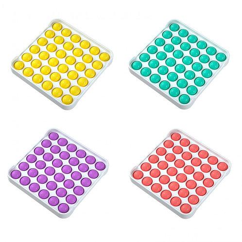 Pop it игрушка Антистресс / квадрат / поп ит в пластиковой рамке