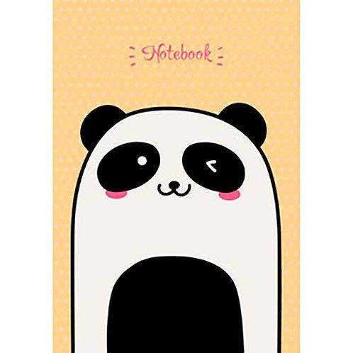 """Бизнес-блокнот А6 96л. ЭКСМО тв.обл. """"Милая панда"""" КЗ6963069 глянц.лам."""