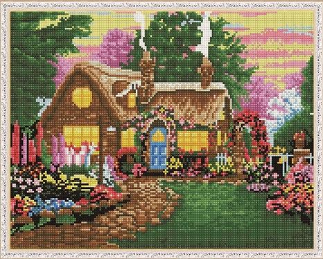 Алмазная мозаика 40х50 QA200165 Уютный дом