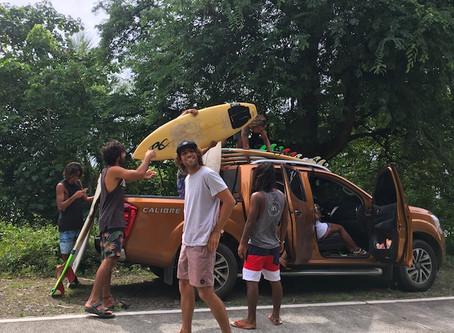Baler - rustig surfstrandje