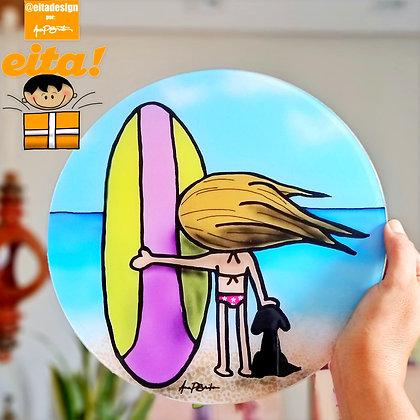 Quadro Menina Surf M