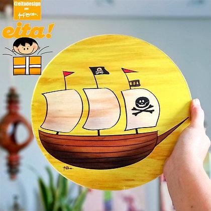 Quadro Navio Pirata M