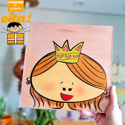 Quadro Princesinha M