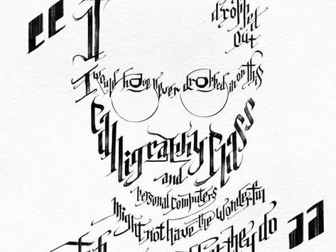 Steve Jobs + Calligraphy, Sounds Interesting