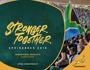 2019 Springboks Promotional Products, Gi