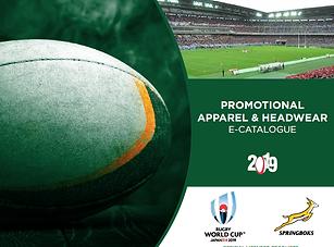 2019 Springboks Promotional Apparel & He