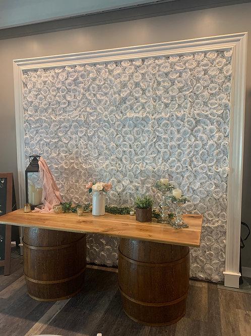 8'x8' Flower Wall