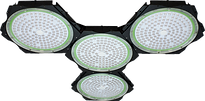 Photon LED 4 Way Grow Light Front