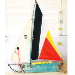 Sailing boat by Nautical Twist