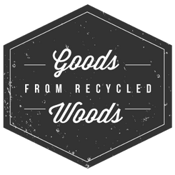 Goods from recycled woods
