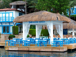 Restaurants in Turkey that can only be visited by the sea