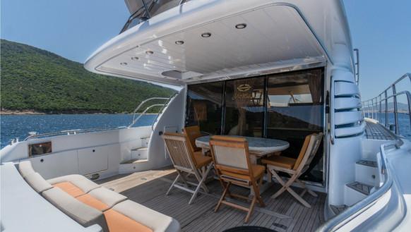 Sunseeker Manhattan 62 Yacht Charter Tur