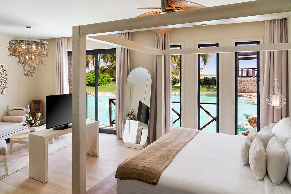 Sanctuary Cap Cana Castle Junior Suite Swim Out