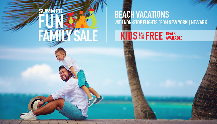 All inclusive JFK/EWR vacation packages