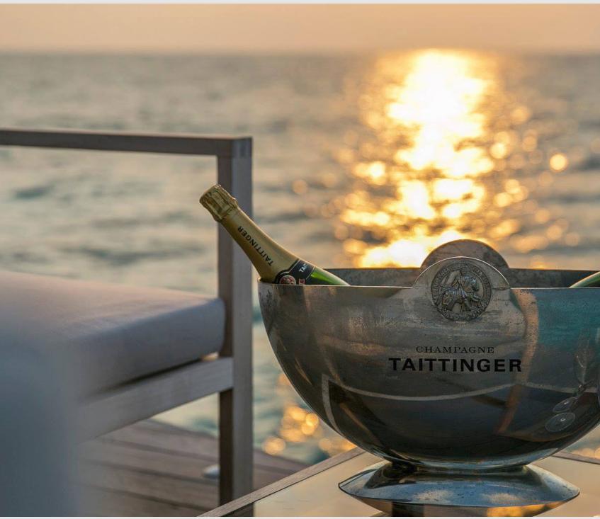 maldives underwater vow renewal sunset