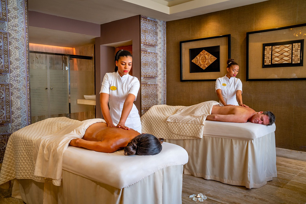Sanctuary Cap Cana Spa Treatment Room Couples Massage