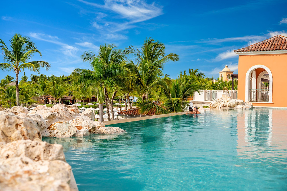 Sanctuary Cap Cana Infinity Pool