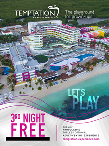 Temptation Cancun Resort - Adults only - grand reopening