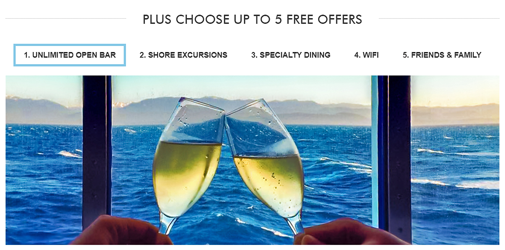 Norwegian Cruise Lines Free At Sea Promo!