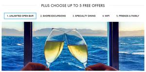 Norwegian Cruise Lines Free At Sea Promo!