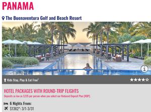 Buenaventura Beach Resort All Inclusive Promo from Newark