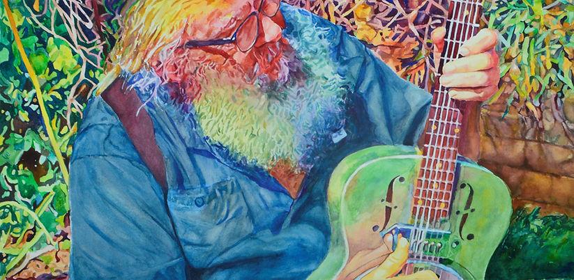 Rackelman Garden Guitaring (2).JPG