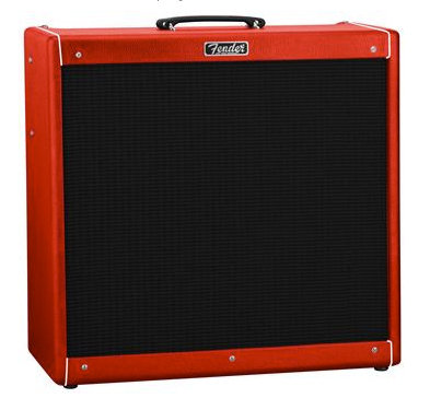 "Fender Hot Rod DeVille 410 III ""Red October"""