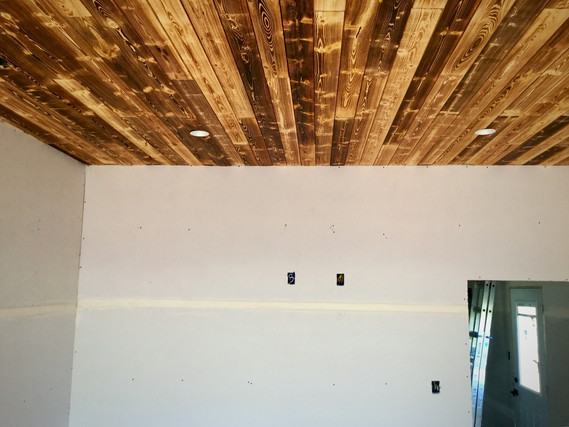 The Master Bedroom Ceiling