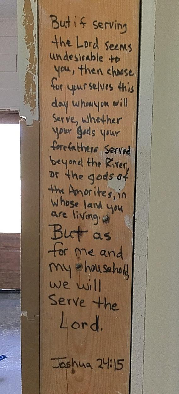Scriptures In The Walls