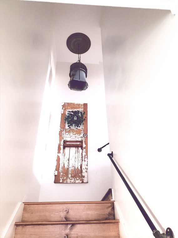 The Stairway Reveal
