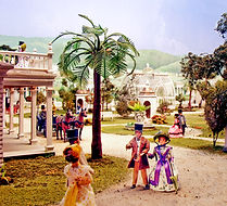 30-foot diorama of Calistoga in the 1860s.