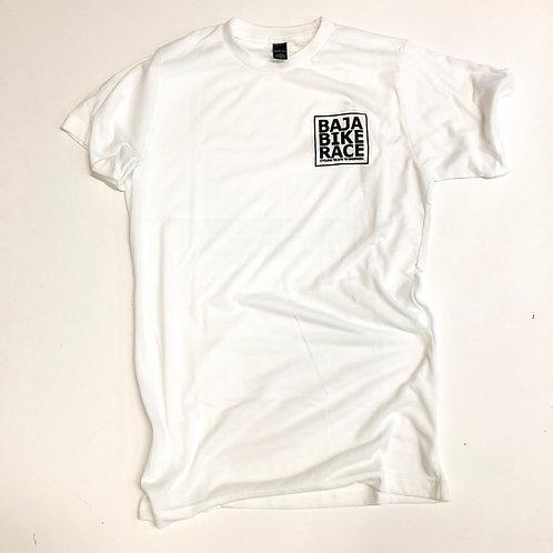 BBR Square logo White T-shirt