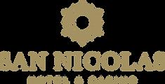 San Nicolas Hotel logo gold.png