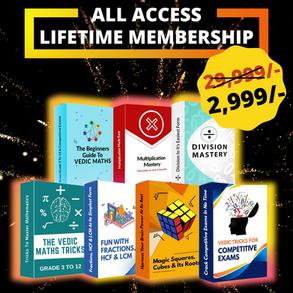 All-Access Lifetime Membership Pass