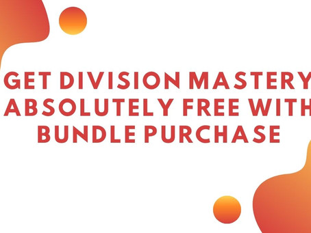 Get Division Mastery Absolutely Free With Bundle Purchase