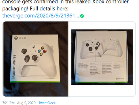 Xbox Series S Reportedly Confirmed by Controller Packaging Leak